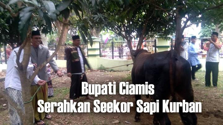 Koropak.co.id - Sholat Ied di Ciamis Berlangsung Khidmat dan Sarat Makna (2)