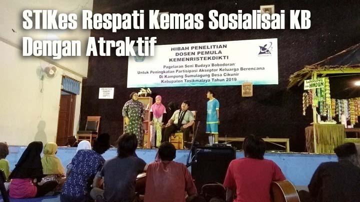 Koropak.co.id - STIKes Respati Tasikmalaya Sosialisasi KB Melalui Drama Musikal (1)