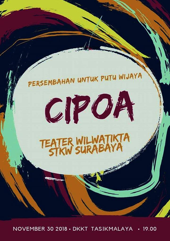 Koropak.co.id - STKW Surabaya Siap Gelar Pementasan Cipoa (2)