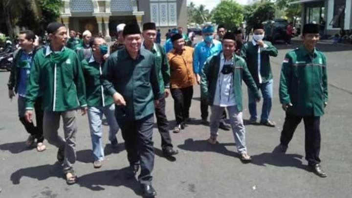 Koropak.co.id - Suara Kader PKB Kabupaten Tasikmalaya Tetap Utuh Untuk Haris Sanjaya