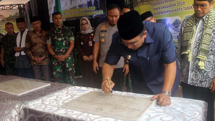 Koropak.co.id - Tahun Anggaran 2019, Total Pembangunan Fisik di Kota Tasikmalaya Capai Rp 425 Miliar (1)