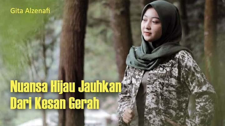 Koropak.co.id - Tampil Fresh Dengan Hijab Bernuansa Hijau (2)