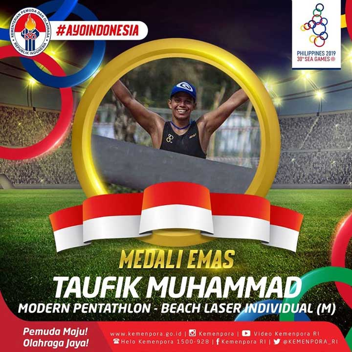 Koropak.co.id - Tasikmalaya Patut Bangga, Putra Daerah Bersinar di Sea Games 2019 (2)