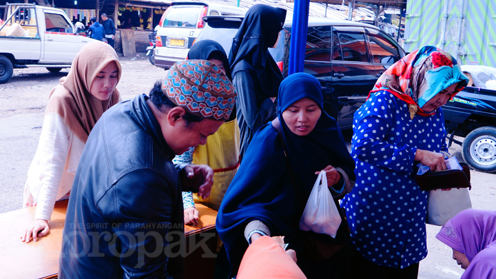 Tekan Harga Telur, TPID Kota Tasikmalaya Gelar Operasi Pasar