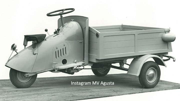 Koropak.co.id - Ternyata MV Agusta Dulu Pernah Produksi Motor Niaga Roda Tiga