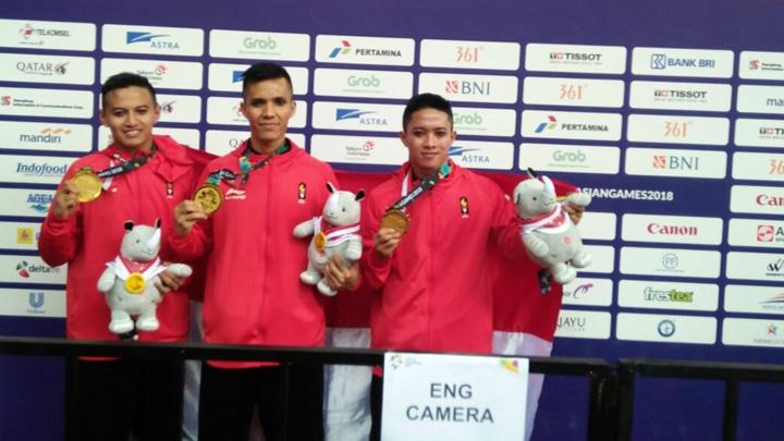 Koropak.co.id - Tiga Atlet Pencak Silat Asal Garut Raih Emas (1)