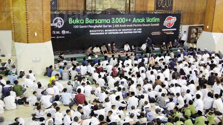 Koropak.co.id - Tiga Ribu Anak Yatim Ikuti Big Bukber 2019 (3)