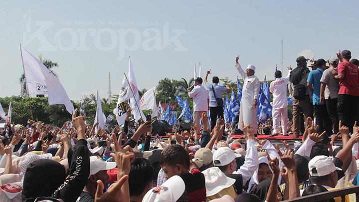 Koropak.co.id - Tiga Ulama Miftahul Huda Mantap Dukung Prabowo