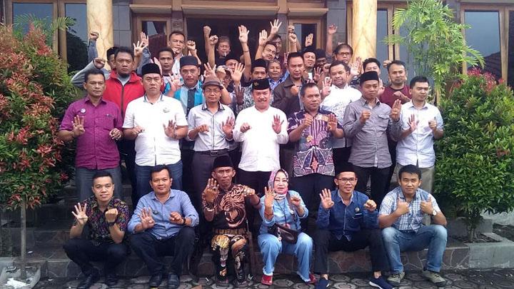 Koropak.co.id - Tim Pemenangan Asep Syaripudin Rapatkan Barisan (2)