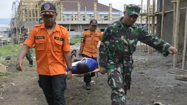 Koropak.co.id - Tingkatkan Kesiapsiagaan, Korem Tarumanagara Gelar Latihan Penanggulangan Bencana (2)