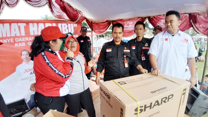Koropak.co.id - TKD Jokowi - Ma'ruf Garut, Pertajam Sosialisasi (2)