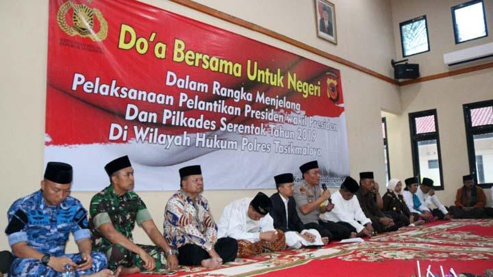 Koropak.co.id - TNI Polri Dan Ulama Duduki GPW Polres Tasikmalaya (2)
