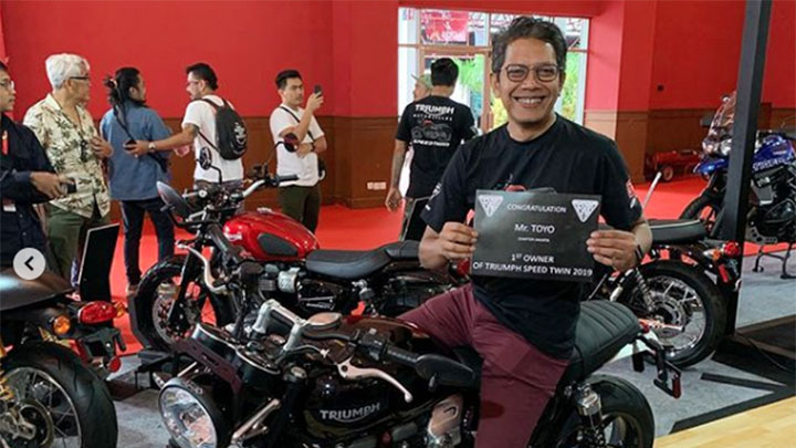 Koropak.co.id - Triumph New Speed Twin Resmi Hadir di Indonesia