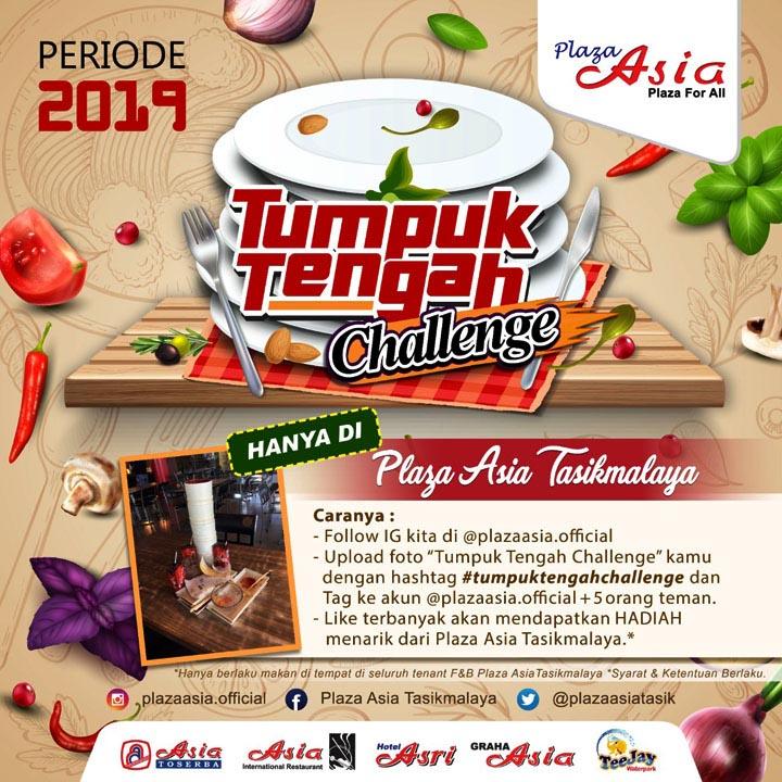 Koropak.co.id - Tumpuk Tengah Challenge, Budaya Tertib Setelah Makan