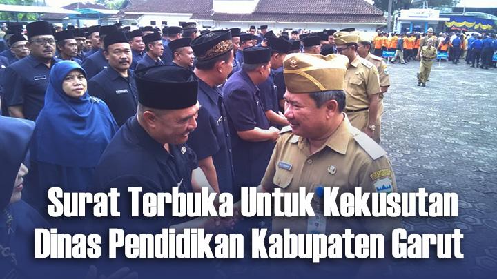 Koropak.co.id - Usut Benang Kusut Dinas Pendidikan Kabupaten Garut