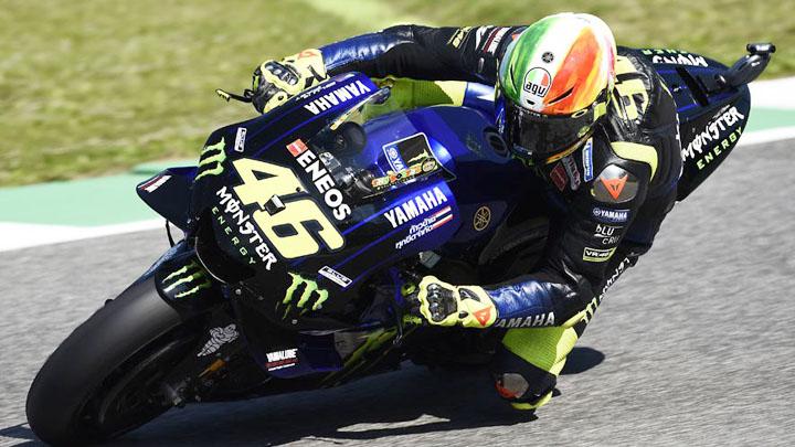 Koropak.co.id - Valentino Rossi Raih Hasil Cukup Memuaskan (2)