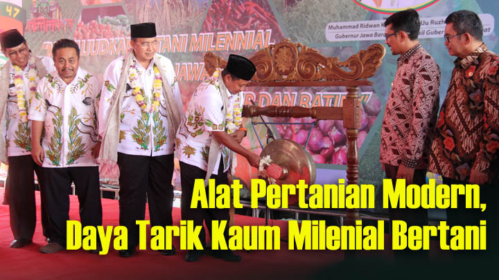 Koropak.co.id - Wagub Jabar Dorong Lahirnya Petani Milenial (2)