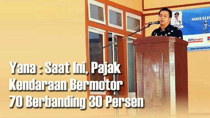 Koropak.co.id - Wakil Bupati Ciamis Harapkan Persentase Pajak Untungkan Pemerintah Daerah