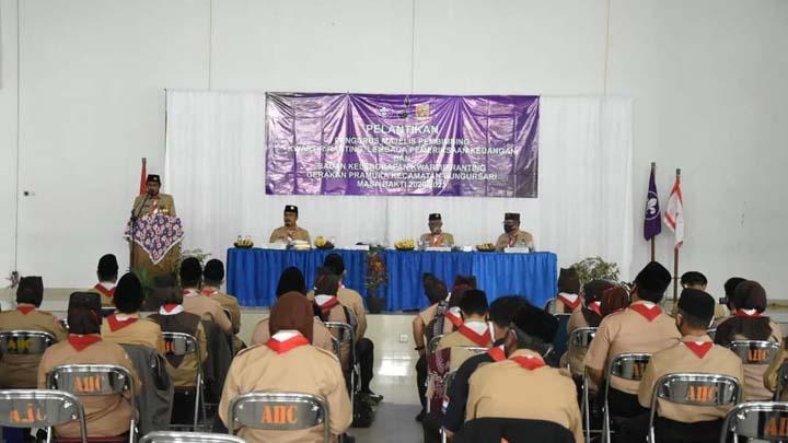 Koropak.co.id - Wakil Walikota Tasikmalaya Lantik Kwartir Ranting Pramuka Bungursari