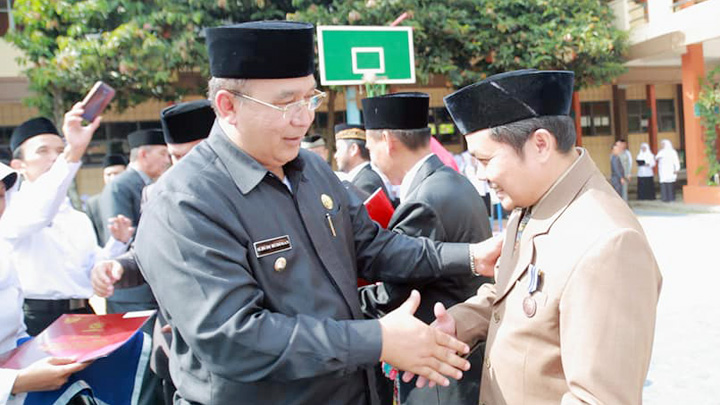 Koropak.co.id - Walikota Pimpin Upacara Hari Amal Bakti (3)