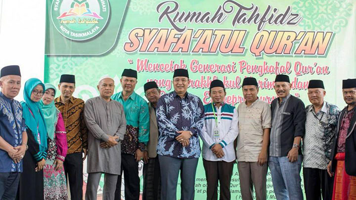 Koropak.co.id - Walikota Resmikan Rumah Tahfidz Syafa'atul Quran  (2)