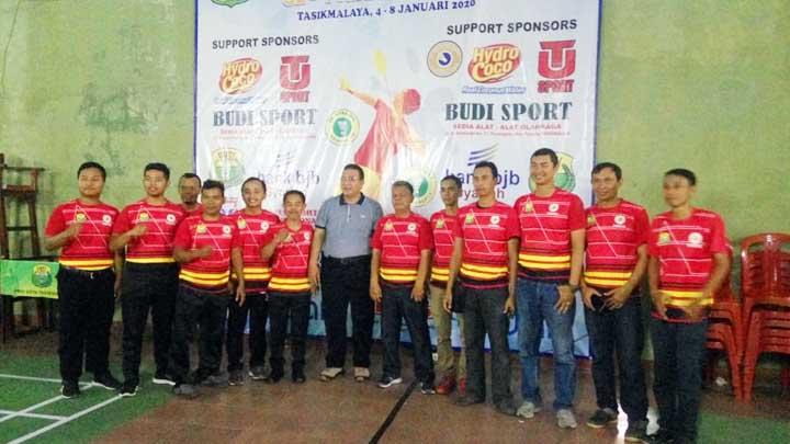 Koropak.co.id -  Walikota Tasikmalaya Bangga Kompetisi Bulutangkis Diikuti Atlet Usia Dini