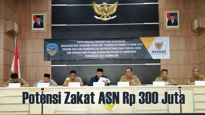Walikota Launching Perwalkot Zakat ASN