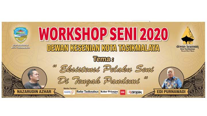 Koropak.co.id - Workshop Seni di Kota Tasikmalaya, Menjaga Eksistensi Pelaku