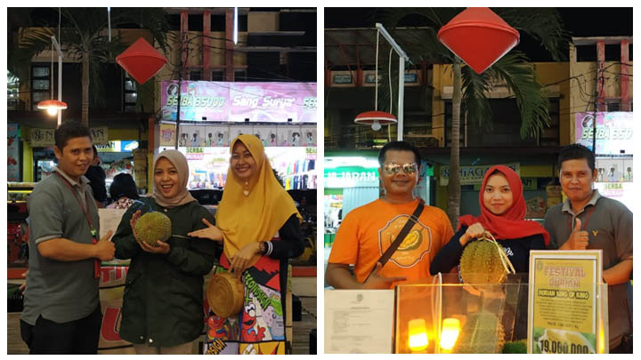 Koropak.co.id - Wow! Inilah Keseruan Lomba Makan Durian di Yogya Ciamis (3)