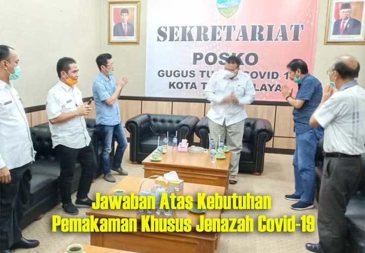 Koropak.co.id - Yayasan Bakti Hibahkan Tanah Untuk Pemakaman Jenazah Covid-19