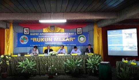 Rapat anggota KSP Rukun Mekar