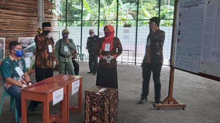 Lima Desa di Kecamatan Kawali Kabupaten Ciamis Laksanakan Pilkades Serentak 2020 (2)