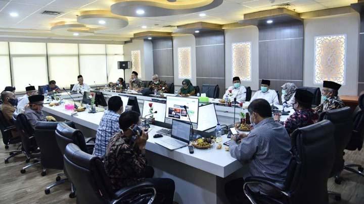 Pansus VII DPRD Jawa Barat Konsultasikan Raperda Pesantren Ke Kemendagri (2)