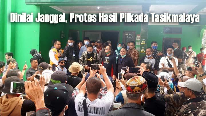 Pasangan Iwan-Iip Menolak Telak Real Count KPU Kabupaten Tasikmalaya (1)