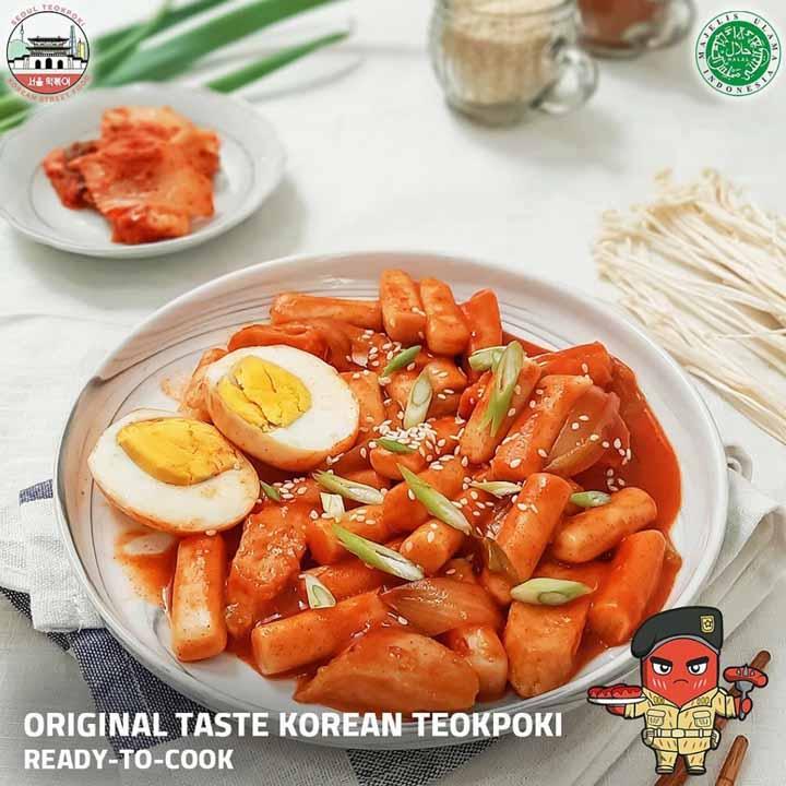 Seoul Teokpoki, Korean Street Food Halal dengan Rasa Asli Korea (1)