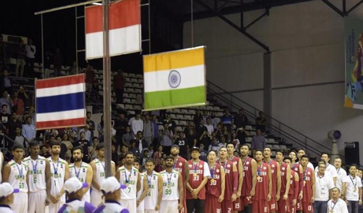 Tim Basket Indonesia Kalahkan India