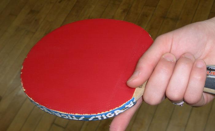Cara Memegang Bet Tenis Meja