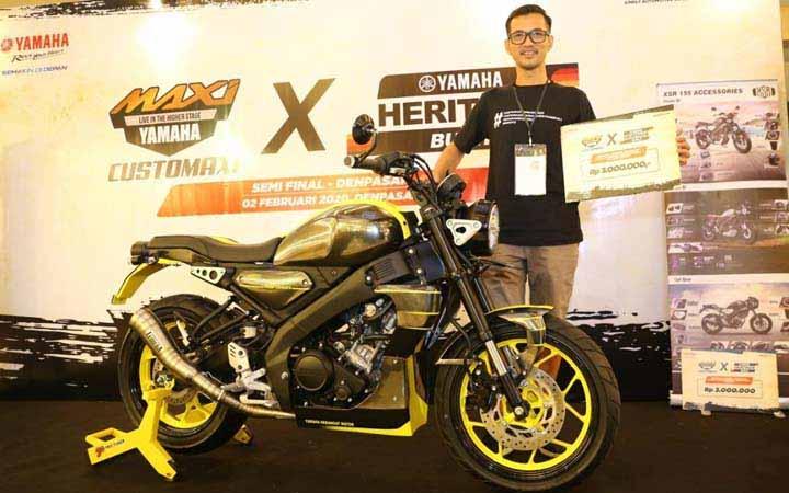 Yamaha XSR 155 Kini Semakin Banyak Digemari Para Pecinta Motor Sport