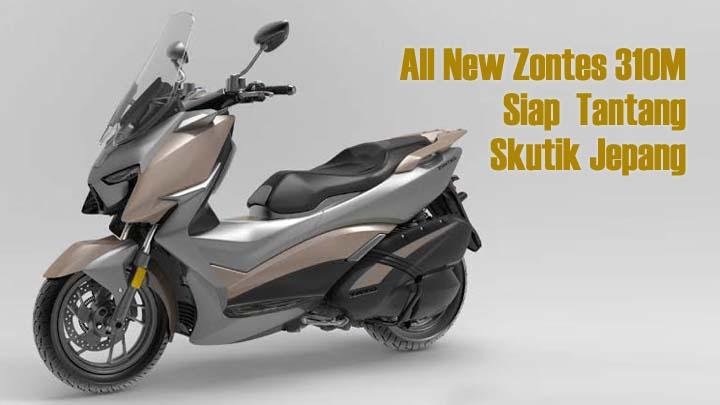 Zontes Motorcycles Akan Rilis All New Zontes 310 M, ini Spesifikasinya