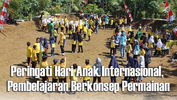 Padepokan Kampung Salapan Ajak Siswa Sekolah Dasar Belajar di Alam Terbuka