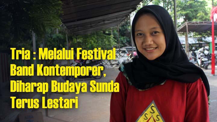 Sanggar Seni SMAN 1 Singaparna Jajal Festival Band Kontemporer