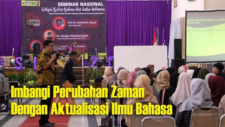 Seminar GBBSI Pertahankan Eksistensi Bahasa Indonesia
