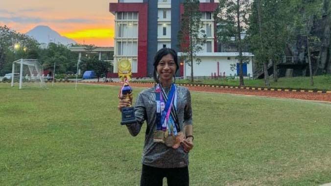 Sintia Rahmat, Mahasiswa UMM yang Ikuti Taekwondo dan Raih Belasan Medali